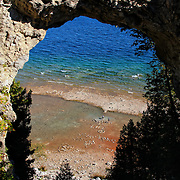 &quot;Life Below Arch Rock&quot;<br />