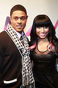 27 February 2010- New York, NY- l to r: Pooch Hall and Nickie Minaj at the BET 2010 RIP The RUNWAY held at the Hammerstein Ballroom on February 27, 2010 in New York City. Photo Credit: Terrence Jennings/Sipa
