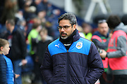 David Wagner during the Sky Bet Championship match between Preston North End and Huddersfield Town at Deepdale, Preston, England on 6 February 2016. Photo by Pete Burns.