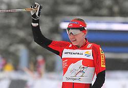 30.12.2011, DKB-Ski-ARENA, Oberhof, GER, Viessmann FIS Tour de Ski 2011, Pursuit/ Verfolgung Damen im Bild Justyna Kowalczyk (POL) gewinnt das Rennen . // during of Viessmann FIS Tour de Ski 2011, in Oberhof, GERMANY, 2011/12/30 .. EXPA Pictures © 2011, PhotoCredit: EXPA/ nph/ Hessland..***** ATTENTION - OUT OF GER, CRO *****