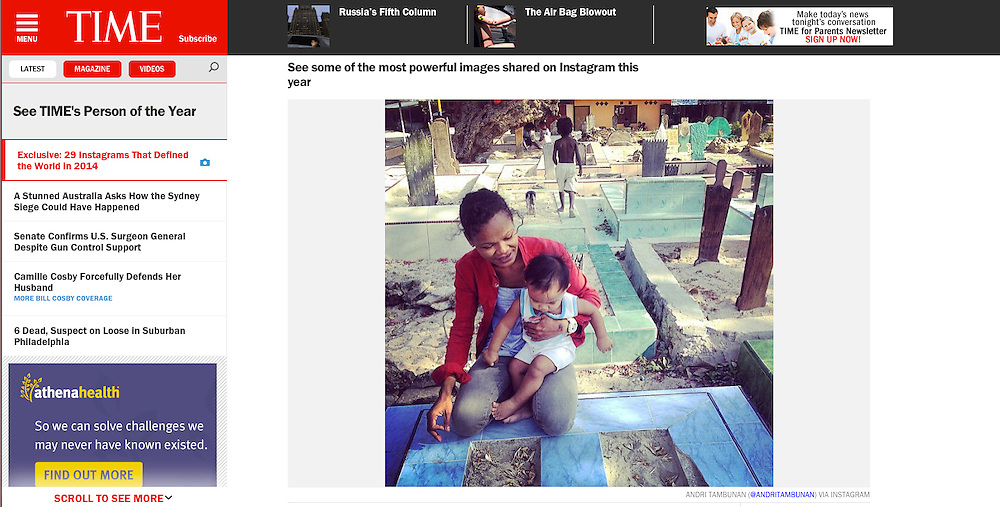 29 Instagrams That Defined the World in 2014<br /> <br /> http://time.com/3633777/29-instagrams-that-defined-the-world-in-2014/
