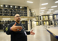 Corrections Secretary John Wetzel leads a tour through the newest prison in Pennsylvania Friday, September 01, 2017 at State Correction Institution Phoenix in Skippack, Pennsylvania. The facility is inching closer to opening, two years late, to replace Graterford Prison at a cost of $400 million. (Photo by William Thomas Cain/CAIN IMAGES)