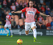 Exeter City midfielder Ryan Harley during the Sky Bet League 2 match between Barnet and Exeter City at The Hive Stadium, London, England on 31 October 2015. Photo by Bennett Dean.