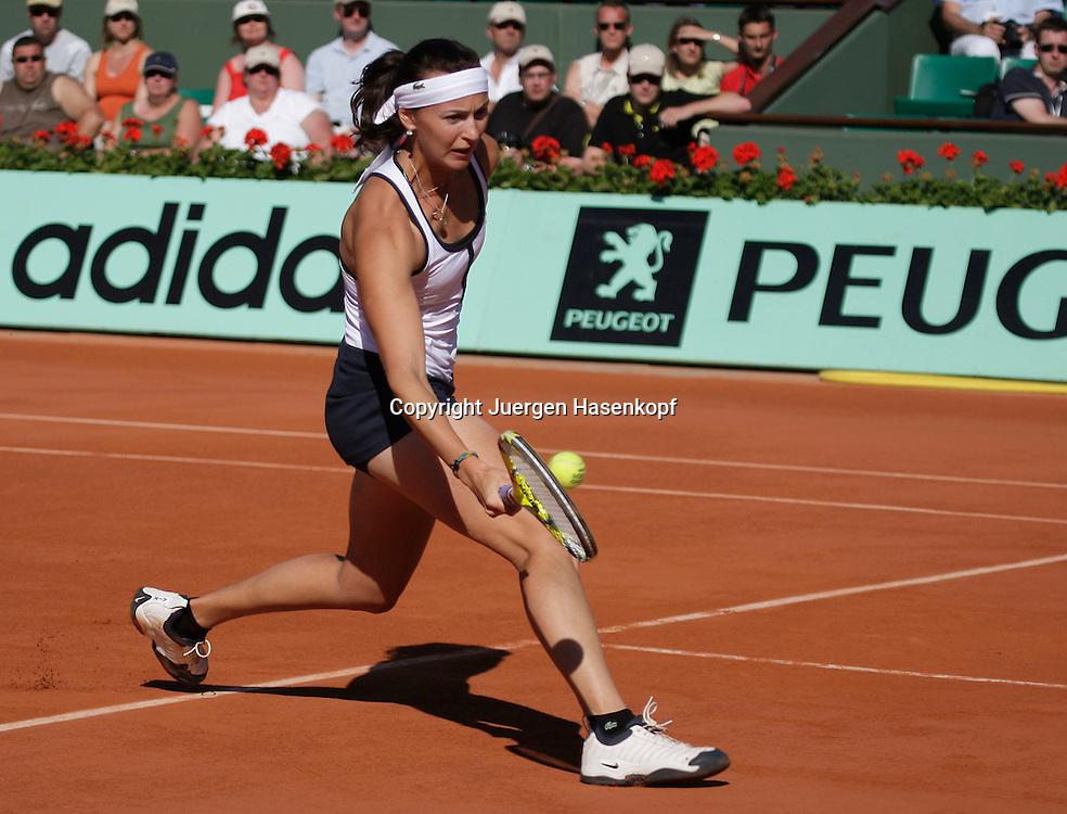 French Open 2009, Roland Garros, Paris, Frankreich,Sport, Tennis, ITF Grand Slam Tournament,<br /> <br /> Yaroslava Shvedova (KAZ) <br /> <br /> Foto: Juergen Hasenkopf