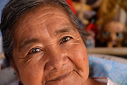 """South Tucson resident of 20 years, Juanita Figueroa, 77, proudly states, """"It's mine"""", about her home ownership in the southside community, Tucson, Arizona, USA."""