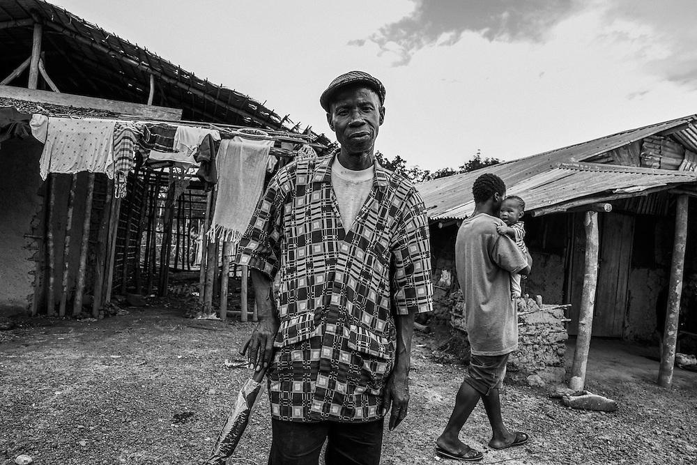 Community Elder. John Logan Town, Liberia.