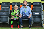 Match day mascot during the EFL Sky Bet League 2 match between Forest Green Rovers and Newport County at the New Lawn, Forest Green, United Kingdom on 31 August 2019.