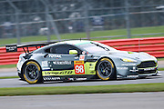 98 LMGTE Am Aston Martin Racing / Aston Martin Vantage V8 / Paul Dalla Lana / Pedro Lamy / Mathias Lauda  during the FIA World Endurance Championship at Silverstone, Towcester, United Kingdom on 15 April 2016. Photo by Craig McAllister.