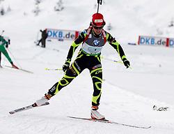 18.12.2011, Biathlonzentrum, Hochfilzen, AUT, E.ON IBU Weltcup, 3. Biathlon, Hochfilzen, Mix Staffel, im Bild Sophie Boilley (FRA) // during Mixed Relay E.ON IBU World Cup 3th Biathlon, Hochfilzen, Austria on 2011/12/18. EXPA Pictures © 2011, PhotoCredit: EXPA/ Oskar Hoeher