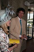Gus Christie, Glorious Goodwood. 31 July 2007.  -DO NOT ARCHIVE-© Copyright Photograph by Dafydd Jones. 248 Clapham Rd. London SW9 0PZ. Tel 0207 820 0771. www.dafjones.com.