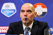 Onderwerp/Subject: Willem II v PEC Zwolle - Eredivisie<br /> Reklame:  <br /> Club/Team/Country: <br /> Seizoen/Season: 2014/2015<br /> FOTO/PHOTO: Coach Jurgen STREPPEL of Willem II during press conference. (Photo by PICS UNITED)<br /> <br /> Trefwoorden/Keywords: <br /> #07 #20 $64 &plusmn;1401974349562<br /> Photo- &amp; Copyrights &copy; PICS UNITED <br /> P.O. Box 7164 - 5605 BE  EINDHOVEN (THE NETHERLANDS) <br /> Phone +31 (0)40 296 28 00 <br /> Fax +31 (0) 40 248 47 43 <br /> http://www.pics-united.com <br /> e-mail : sales@pics-united.com (If you would like to raise any issues regarding any aspects of products / service of PICS UNITED) or <br /> e-mail : sales@pics-united.com   <br /> <br /> ATTENTIE: <br /> Publicatie ook bij aanbieding door derden is slechts toegestaan na verkregen toestemming van Pics United. <br /> VOLLEDIGE NAAMSVERMELDING IS VERPLICHT! (&copy; PICS UNITED/Naam Fotograaf, zie veld 4 van de bestandsinfo 'credits') <br /> ATTENTION:  <br /> &copy; Pics United. Reproduction/publication of this photo by any parties is only permitted after authorisation is sought and obtained from  PICS UNITED- THE NETHERLANDS