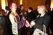 SILVIA ZIRANEK; JEAN WAINWRIGHT, Archive 40 Reception. 40th Anniversary of the Tate archive. Tate Britain. Millbank. London. 25 October 2010. -DO NOT ARCHIVE-© Copyright Photograph by Dafydd Jones. 248 Clapham Rd. London SW9 0PZ. Tel 0207 820 0771. www.dafjones.com.