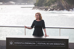 25.09.2015, Madrid, San Sebastian, ESP, San Sebastian International Film Festival, im Bild Awarded actress Emily Watson poses for the photographers at photocall during 63rd Donostia Zinemaldia (San Sebastian International Film Festival) in San Sebastian, Spain. September 25, 2015. (ALTERPHOTOS/Victor Blanco) // at 63rd Donostia Zinemaldia, San Sebastian International Film Festival in Madrid in San Sebastian, Spain on 2015/09/25. EXPA Pictures © 2015, PhotoCredit: EXPA/ Alterphotos/ Victor Blanco<br /> <br /> *****ATTENTION - OUT of ESP, SUI*****