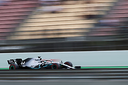 May 11, 2019 - Barcelona, Spain - Lewis Hamilton of Great Britain driving the (44) Mercedes AMG Petronas F1 Team Mercedes W10 during qualifying for the F1 Grand Prix of Spain at Circuit de Barcelona-Catalunya on May 11, 2019 in Barcelona, Spain. (Credit Image: © Jose Breton/NurPhoto via ZUMA Press)