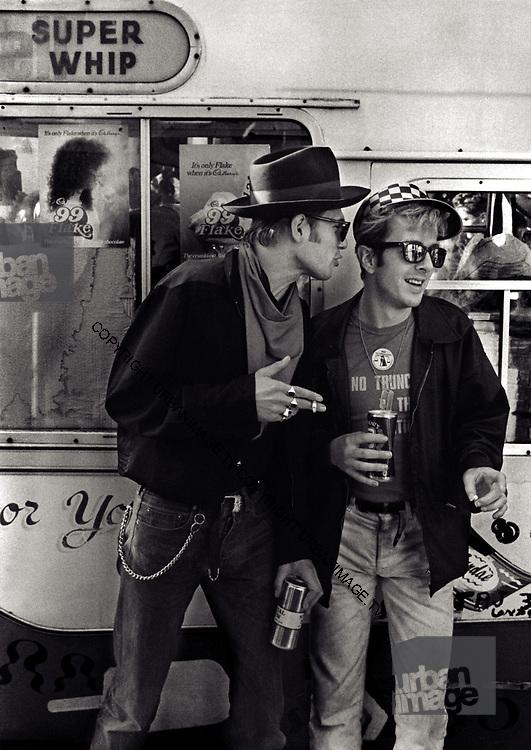 Joe Strummer - The Clash - Notting Hill Carnival - 1977