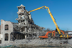 Christchurch-Final days for old Christchurch Council building