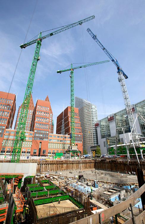 Foto: Gerrit de Heus. Den Haag 14/05/09. Bouw ministerie van Binnenlandse Zaken en ministerie van Veilgheid en Justitie.