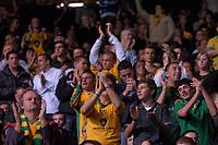 Photo: Glyn Thomas.<br />Birmingham City v Norwicht. Carling Cup.<br />26/10/2005.<br /> Norwich fans cheer on their team.
