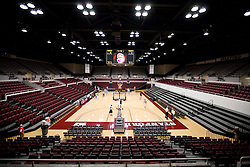 November 6, 2009; Stanford, CA, USA;  The interior of the Maples Pavilion before an exhibition game between the Stanford Cardinal and Sonoma State Seawolves.
