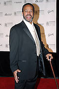 Thom Bell posing before entering the 37th Annual Songwriters Hall of Fame Induction Ceremony at the Marriott Marquis Hotel in New York, USA, on Thursday, June 15, 2006. **ITALY OUT**