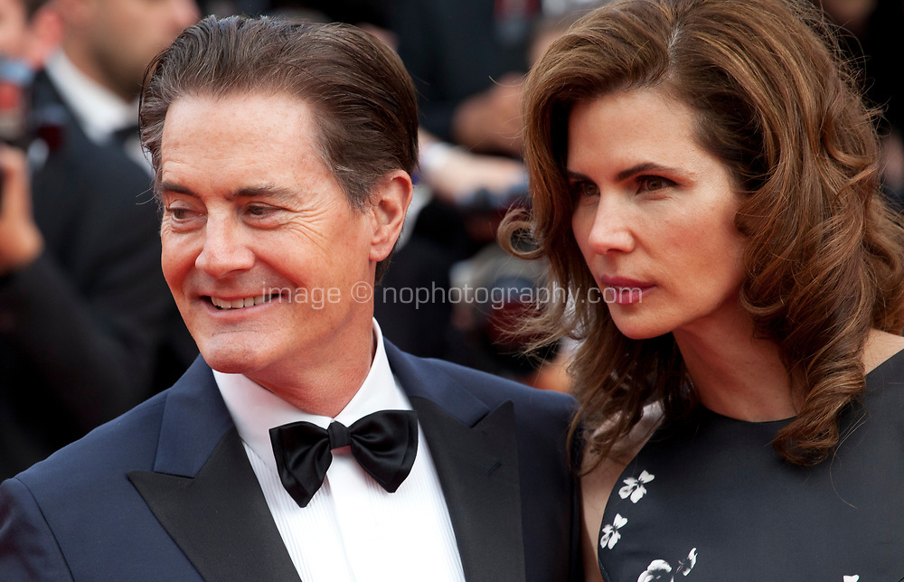 Kyle MacLachlan and Desiree Gruber at Twin Peaks gala screening at the 70th Cannes Film Festival Thursday 25th May 2017, Cannes, France. Photo credit: Doreen Kennedy