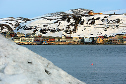 NORWAY HAMMERFEST 23MAR07 - Housing in Hammerfest, the world's most northerly city...jre/Photo by Jiri Rezac..© Jiri Rezac 2007..Contact: +44 (0) 7050 110 417.Mobile:  +44 (0) 7801 337 683.Office:  +44 (0) 20 8968 9635..Email:   jiri@jirirezac.com.Web:    www.jirirezac.com..© All images Jiri Rezac 2007 - All rights reserved.