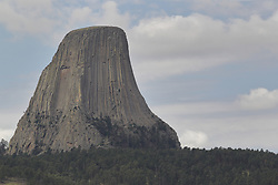 Devil's Tower in Wyoming