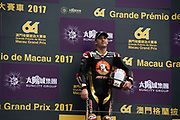 Michael RUTTER, SMT / Bathams by MGM Macau, BMW<br /> <br /> 64th Macau Grand Prix. 15-19.11.2017.<br /> Suncity Group Macau Motorcycle Grand Prix - 51st Edition<br /> Macau Copyright Free Image for editorial use only