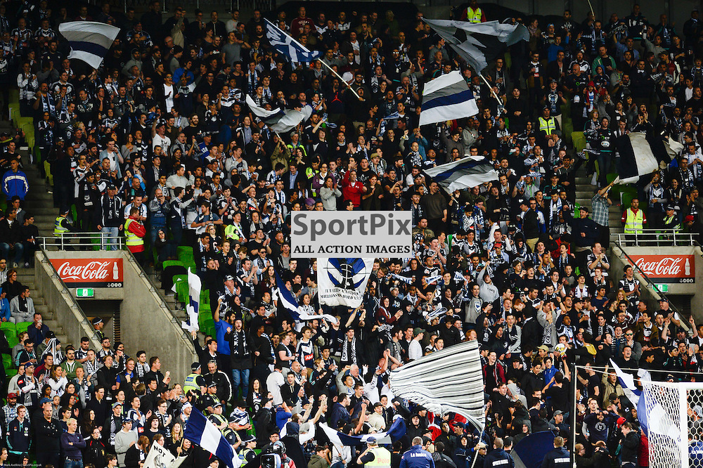 Victory fns during the Westfield FFA Cup Final, 7th November 2015, Melbourne Victory FC v Perth Glory FC - © Mark Avellino | SportPix.org.uk