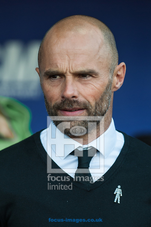 Rotherham United manager Paul Warne during the Sky Bet League 1 Play-Off Semi-Final match at the New York Stadium, Rotherham<br /> Picture by Matt Wilkinson/Focus Images Ltd 07814 960751<br /> 16/05/2018