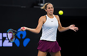 Madison Keys of the United States in action during the final of the 2020 Brisbane International WTA Premier tennis tournament - Photo Rob Prange / Spain ProSportsImages / DPPI / ProSportsImages / DPPI
