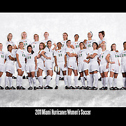UM Women's Soccer Team Photos