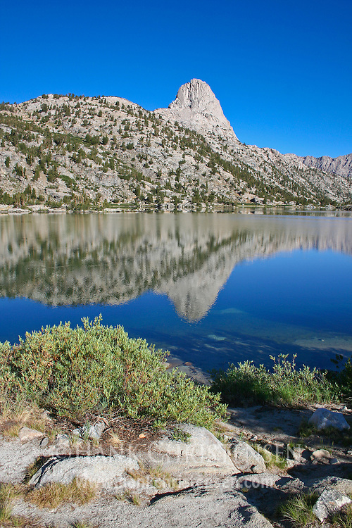 Fin Dome from Rae Lakes, Kings Canyon National Park