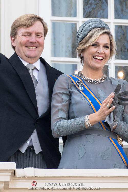 NLD/Den Haag/20170919 - Prinsjesdag 2017, Koningin Willem Alexander en Konigin Maxima