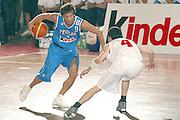 DESCRIZIONE : BORMIO AMICHEVOLE PREPARAZIONE EUROPEI 2005<br /> GIOCATORE : POZZECCO<br /> SQUADRA : ITALIA NAZIONALE<br /> EVENTO : AMICHEVOLE PREPARAZIONE EUROPEI 2005<br /> GARA : ITALIA-GEORGIA<br /> DATA : 06/08/2005<br /> CATEGORIA : Palleggio<br /> SPORT : Pallacanestro<br /> AUTORE : AGENZIA CIAMILLO &amp; CASTORIA/Stefano Ceretti