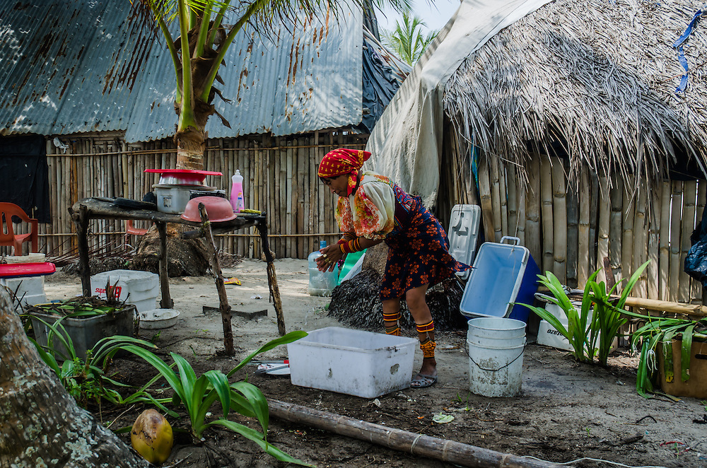 Kuna Yala, San Blas - Panama 04-2014<br /> Photography by Aaron Sosa<br /> <br /> Mrs. Eufracina Places, Diablo Island<br /> <br /> Guna Yala, formerly known as San Blas, is an indigenous province in northeast Panama (Official Gazette of Panama). Guna Yala is home to the indigenous group known as the Gunas. Its capital is El Porvenir. It is bounded on the north by the Caribbean Sea, on the south by the Darién Province and Embera-Wounaan, on the east by Colombia and on the west by the province of Colón.