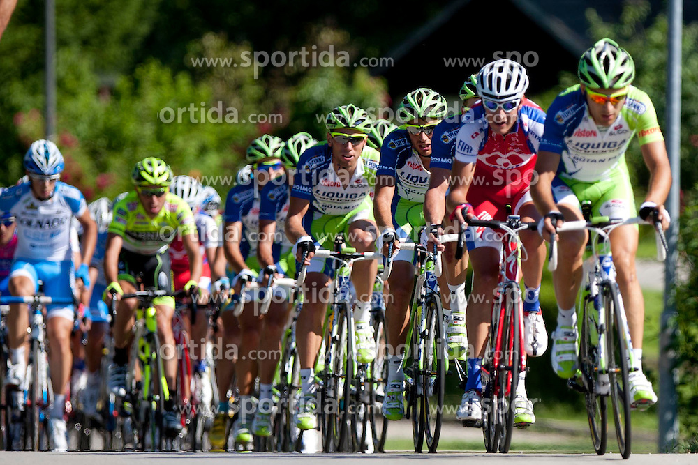 Cyclists during 2nd Stage (177,4 km) at 19th Tour de Slovenie 2012, on June 15, 2012, in Metlika, Slovenia. (Photo by Urban Urbanc / Sportida.com)