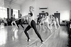 Swing Into Shape class, Nottingham UK 1987