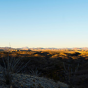 Sunset from Abajo Campground