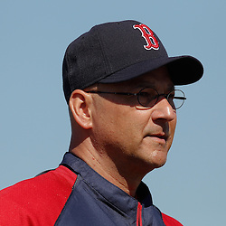 February 19, 2011; Fort Myers, FL, USA; Boston Red Sox manager Terry Francona during spring training at the Player Development Complex.  Mandatory Credit: Derick E. Hingle