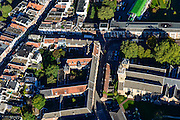 Nederland, Utrecht, Gemeente Utrecht, 30-09-2015; Zuidelijk deel van de binnenstad. Nicolaaskerkhof, Nicolaaskerk, Agnietenstraat, Centraal Museum.<br /> Southern part of downtown Utrecht city centre.<br /> luchtfoto (toeslag op standard tarieven);<br /> aerial photo (additional fee required);<br /> copyright foto/photo Siebe Swart