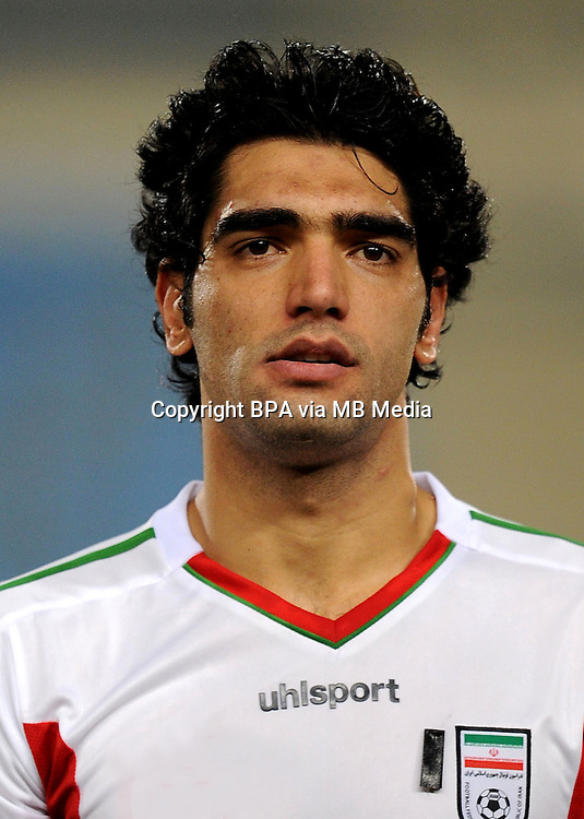 Asian Football Confederation - ASIAN CUP 2015 - Qualifing Match /<br /> Lebanon vs Iran 1-4  ( Sports City Stadium  - Beyrut , Lebanon ) <br /> Ali Reza Haghighi of Iran , during the match between Lebanon and Iran