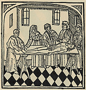 A dissection: from a translation of 'De proprietatibus rerum' by Bartholomaeus Anglicus, 1495.
