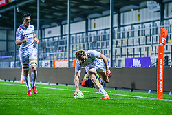 Luke Flack of Exeter Chiefs Rugby Academy - Ryan Hiscott/JMP - 07/11/2018 - SPORT - Sandy Park - Exeter, England - Exeter Chiefs Academy v Royal Navy