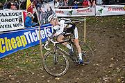 Friday 1 November 2013: Dieter Vanthourenhout in action during the Koppenbergcross 2013 elite men's race. Copyright 2013 Peter Horrell
