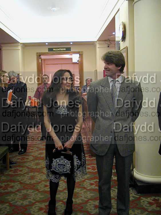 Mark Getty and Domitilla Getty. Royal Gala preview of 'A Positive View&quot; auction. Christie's. London. 2/5/00<br />&copy; Copyright Photograph by Dafydd Jones 66 Stockwell Park Rd. London SW9 0DA Tel 010 7733 0108 www.dafjones.com
