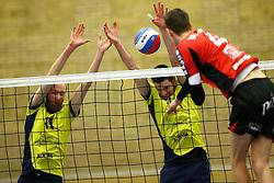 20160130 NED: Volleybal: Inter Rijswijk - Prins VCV, Rijswijk <br />Christopher Lamont, Jorn Lorsheijd, Inter Rijswijk