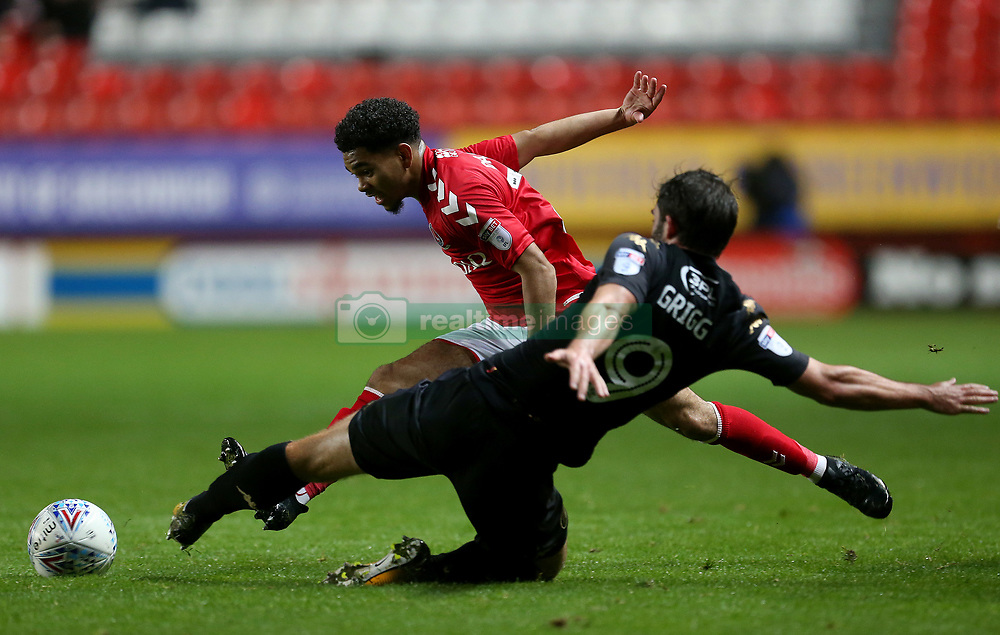 Charlton Athletic's Jay dasilva in action