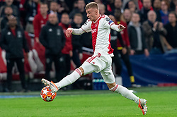 08-05-2019 NED: Semi Final Champions League AFC Ajax - Tottenham Hotspur, Amsterdam<br /> After a dramatic ending, Ajax has not been able to reach the final of the Champions League. In the final second Tottenham Hotspur scored 3-2 / Daley Sinkgraven #8 of Ajax
