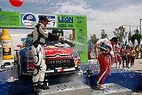 MOTORSPORT - WRC 2010 - RALLY MEXICO GUANAJUATO BICENTENARIO - MEXICO (MEX) - 04 TO 07/03/2010 - PHOTO : FRANCOIS BAUDIN / DPPI<br /> PETTER SOLBERG (NOR) - PETTER SOLBERG WRT - CITROEN C4 WRC - AMBIANCE PORTRAIT SEBASTIEN LOEB (FRA) - CITROEN TOTAL RALLY TEAM - CITROEN C4 WRC - AMBIANCE PORTRAIT PODIUM - AMBIANCE